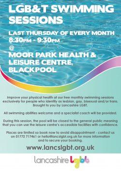 LGBT Swimming Session @ Moor Park Health & Leisure Centre, Blackpool | England | United Kingdom