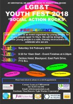 Blackpool LGB&T Youth Fest 2018