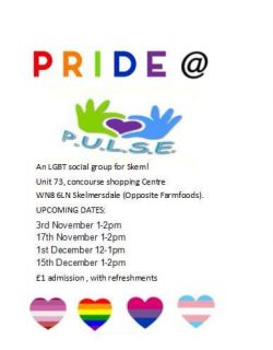 Pride@P.U.L.S.E. Skelmersdale @ The P.U.L.S.E.,  | England | United Kingdom