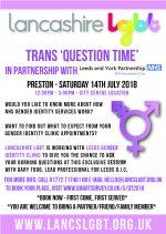 Leeds GIC Question Time – Preston, 14 July