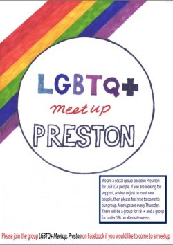 Preston LGBTQ+ Meetup (over-18s) @ on request