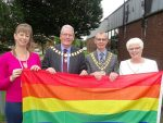 Pride Flag raised at South Ribble Council