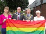 Pride Flag raised at South Ribble Council