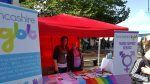 Good to meet you at Preston Pride!