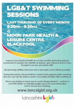 LGBT Swimming Session @ Moor Park Health & Leisure Centre, Blackpool | England | United Kingdom