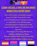 New online LBT Women's Group launching.