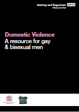 DV resource gay bi men