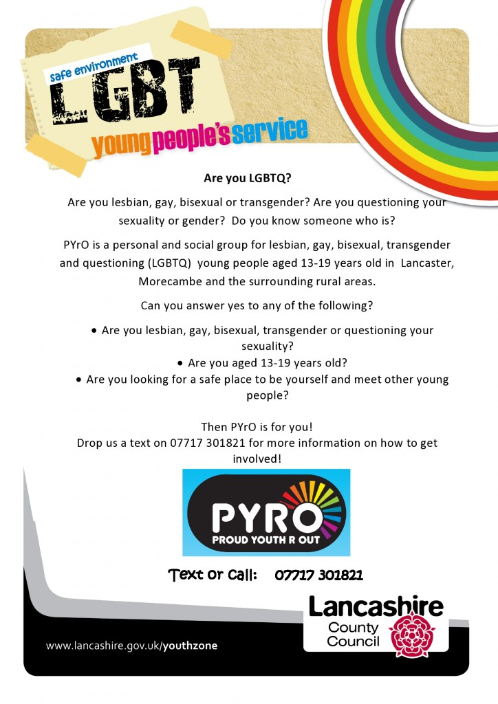 PYRO Lancaster young people's group